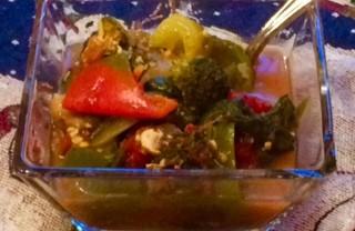 Slow Cooker Veggie Stew