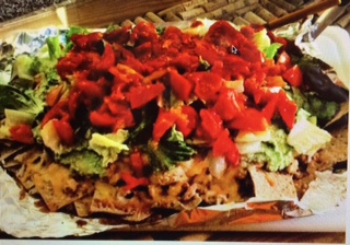 Chicken Nachos, sometimes you need to chow down like a pig!