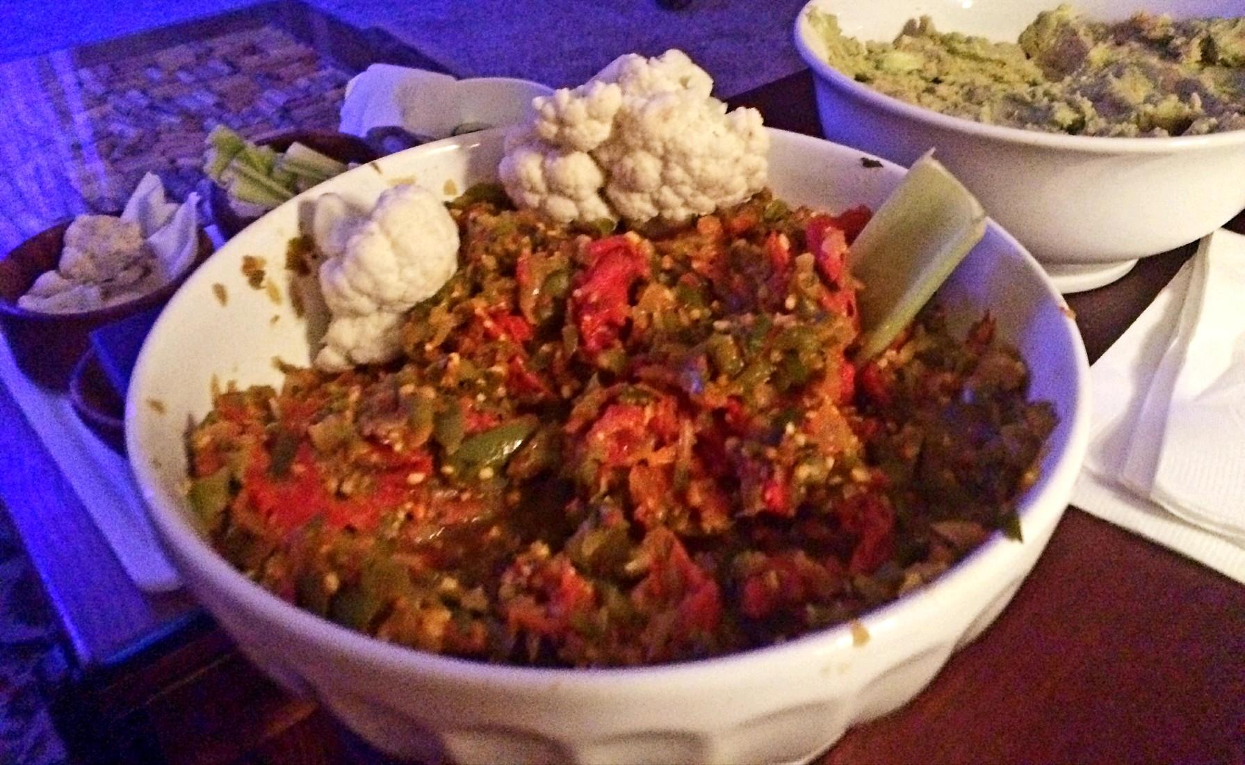 Low Sodium Veggie Bean Dip